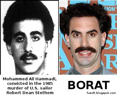 Borat terrorist Mohammed Ali Hammadi